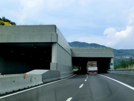 Bollone II Tunnel southern portals