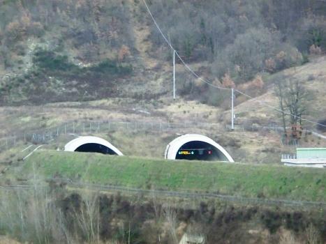 Grizzana Tunnel southern portals