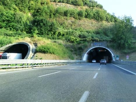 Montevetrano I Tunnel northern portals