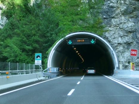 Moggio Udinese Tunnel southern portal