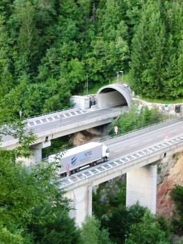 A23 Rio Bianco Viaduct and Sant'Antonio Tunnel southern portal
