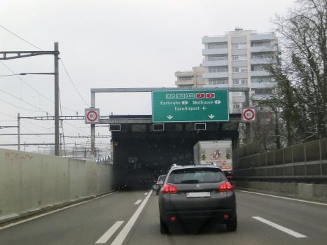 Breite Tunnel southern portal