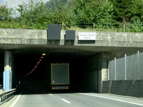 Güetli Tunnel southern portal
