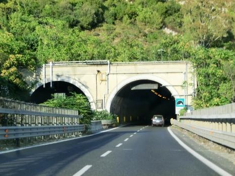 Seminario Tunnel western portals