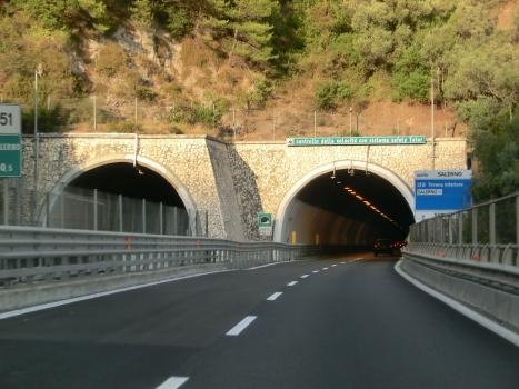 Castello Tunnel western portals