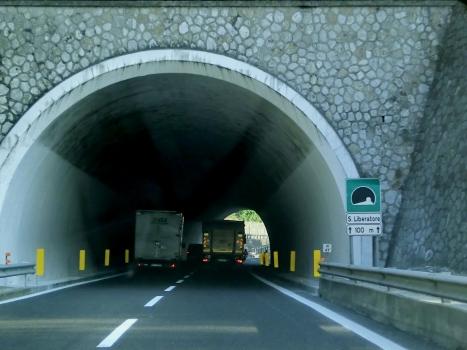 San Liberatore Tunnel northern portal