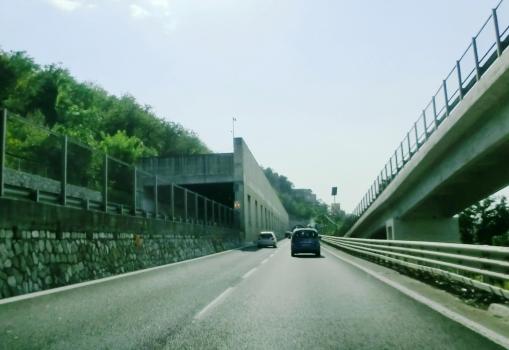San Pantaleone Tunnel eastern portals