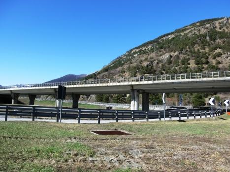 Autobahnbrücke Oulx