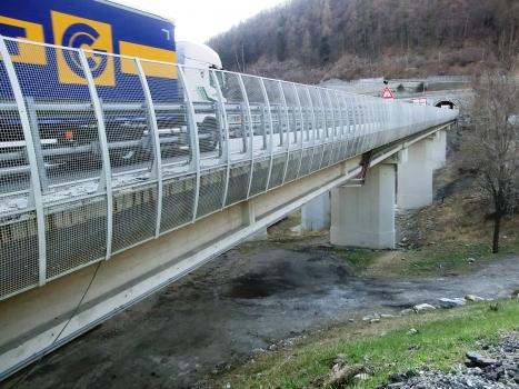 Hangbrücke Rio Ponté