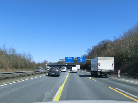 A 3 Motorway (Germany) close to A40-Kaiserberg Connection