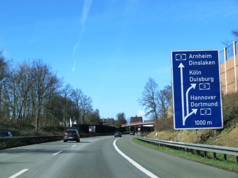 A 3 Motorway (Germany), A2-A3 Oberhausen Connection