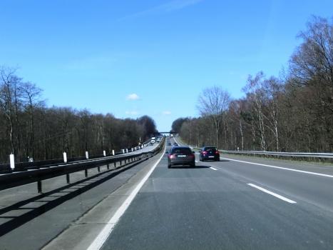 A 3 Motorway (Germany) in Nordrhein-Westfalen