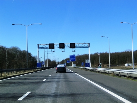 A 3 Motorway (Germany), Netherlands border