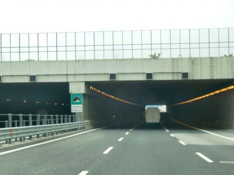 Castellana Tunnel eastern portals