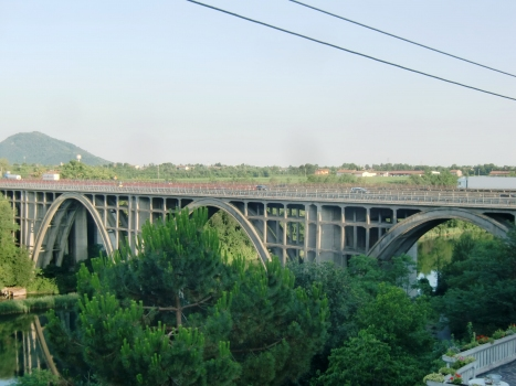 Autobahnbrücke über den Oglio (A4)
