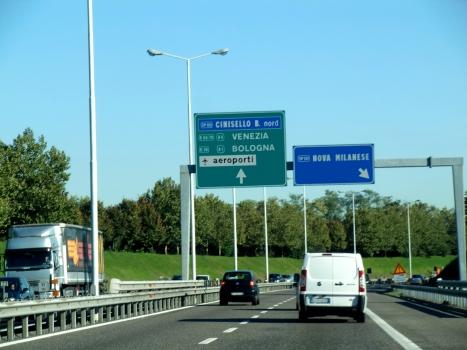 A 52 Motorway (Italy)