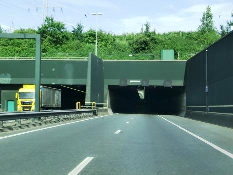 Vlaketunnel western portals
