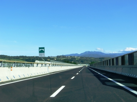 Autobahnbrücke Branzola