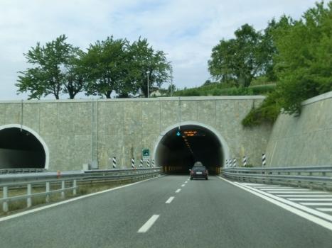Gay di Monti Tunnel southern portals