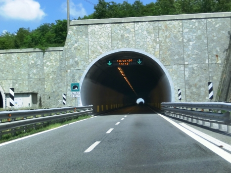Gay di Monti Tunnel western portal