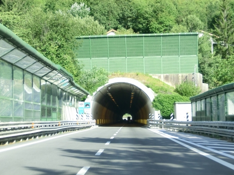 Giannoli Tunnel eastern portal