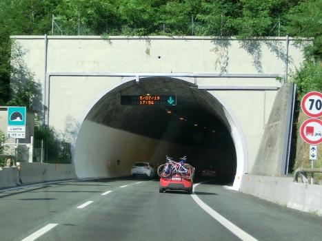 Ligetta Tunnel western portal
