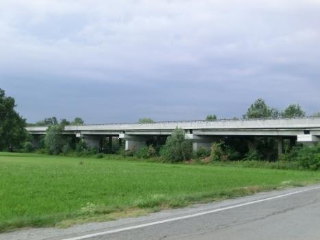 Talbrücke Strada delle Langhe Sud