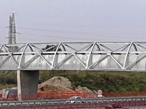 Geh- und Radwegbrücke Assago Milanofiori Nord