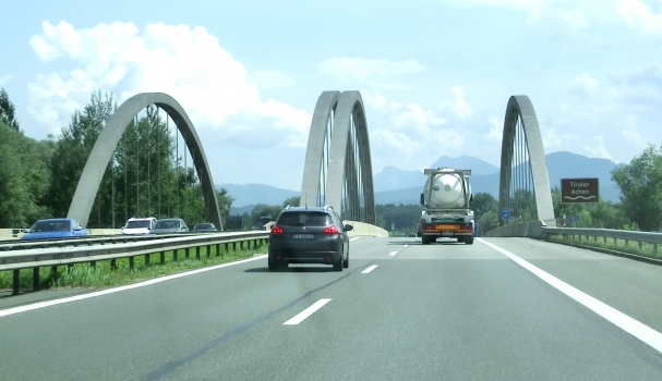 Bridge over the Tiroler Ache