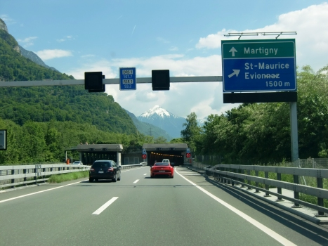 Saint Maurice Tunnel northern portals