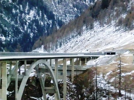 Krummbach Bridge and Hostett I Tunnel northern portal