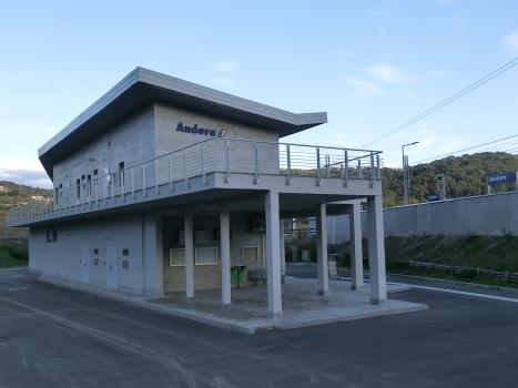 Bahnhof Andora