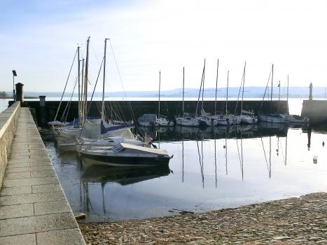 Jachthafen Angera