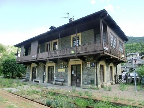 Bahnhof Arvier