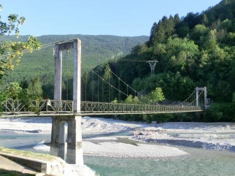 Hängebrücke Barcis