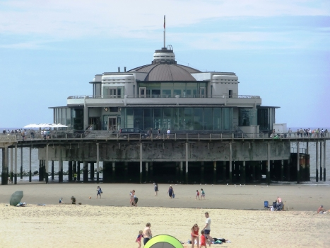 Belgium Pier in Blankenberge (built in 1933)