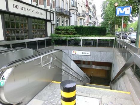 Station du prémétro Boileau