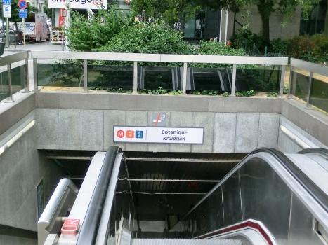 Metrobahnhof Botanique
