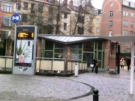 Station de métro Horta