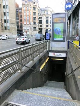 Station de métro Gare Centrale