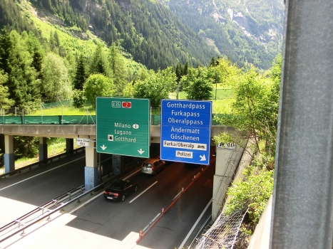 Schoni Tunnel northern portal