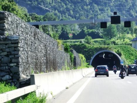 Gamsen Tunnel eastern portal