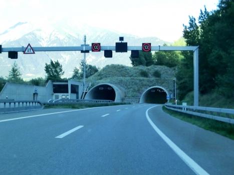 Gamsen Tunnel western portal