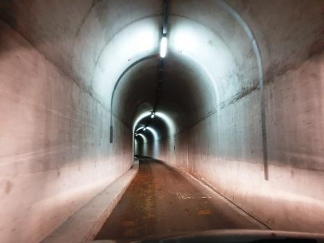 Tunnel du barrage de Luzzone
