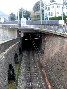 Montarina Tunnel northern portal
