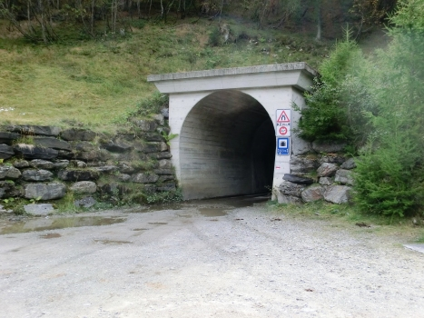 Garzott Tunnel eastern portal