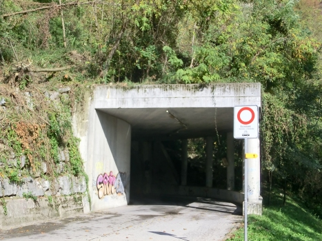Ghitello Tunnel southern portal