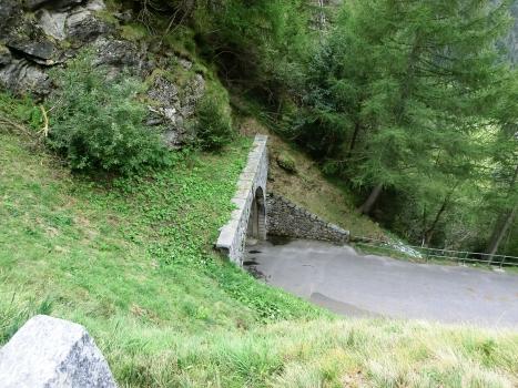 Luzzone I Tunnel western portal
