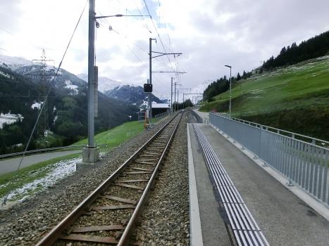 Bahnhof Mompé-Tujetsch