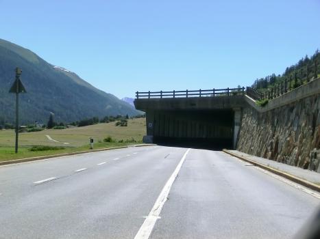 Mühlebach Tunnel western portal